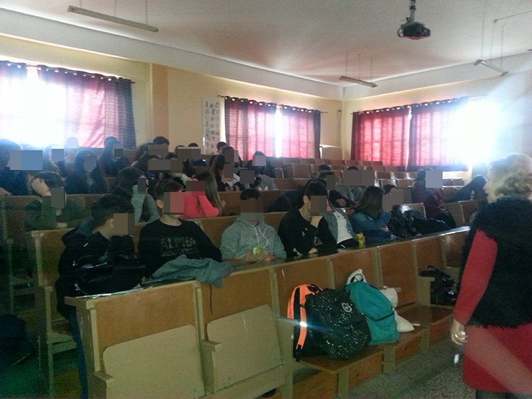 Ο ΕΣΔΑΚ ενημερώνει τους μαθητές για την ορθολογική διαχείριση των απορριμμάτων