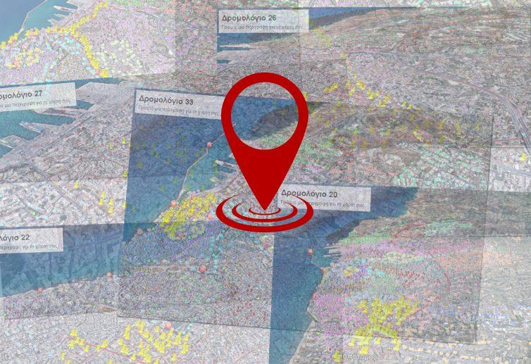 Ολοκληρώθηκε η διαδικασία επαναχάραξης των δρομολογίων των απορριμματοφόρων του Δήμου Ηρακλείου