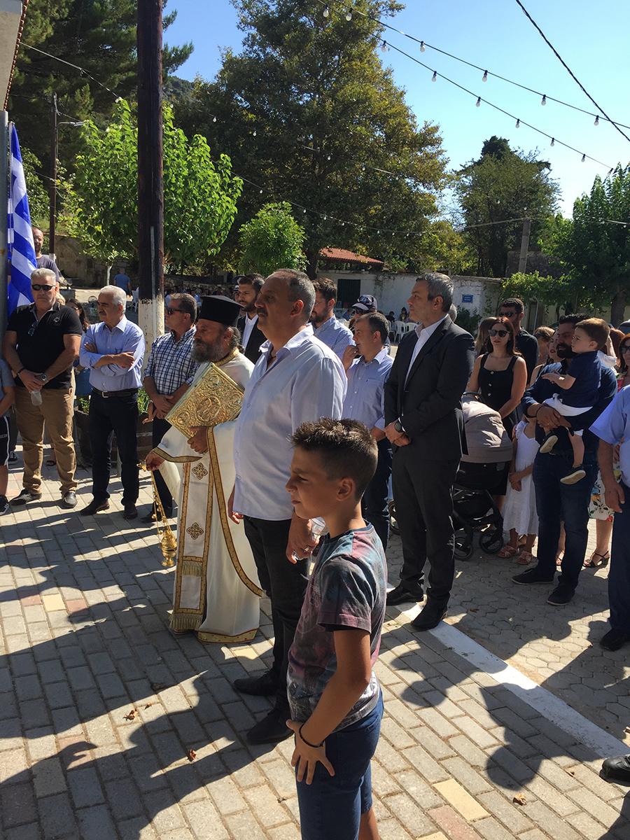 Στην εκδήλωση τιμής και μνήμης των εκτελεσθέντων του Καμαριώτη ο Χάρης Μαμουλάκης