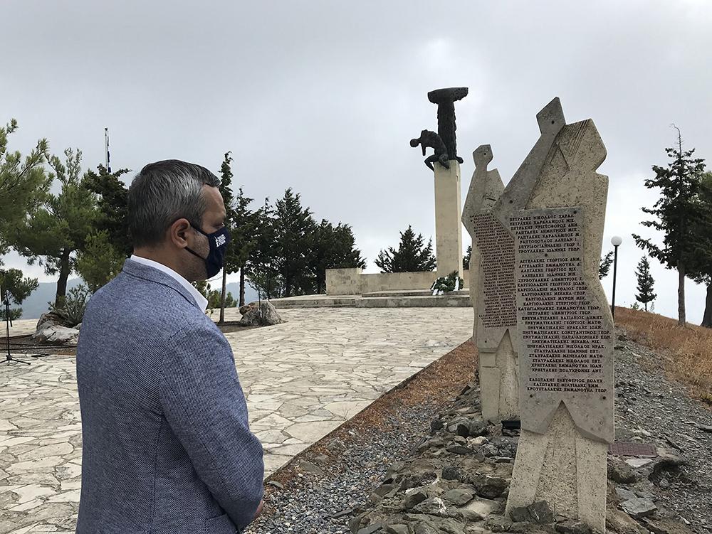 Στην εκδήλωση τιμής και μνήμης για την 77η Επέτειο του Ολοκαυτώματος και της καταστροφής των χωριών της Βιάννου και της Δυτικής Ιεράπετρας ο Χάρης Μαμουλάκης