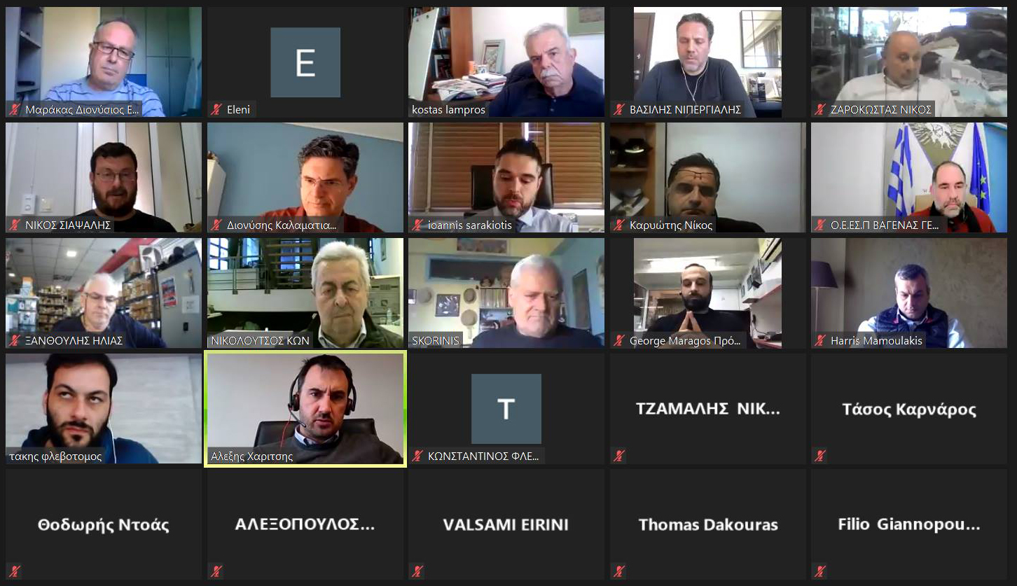 Συνεχίζονται οι τηλεδιασκέψεις του ΣΥΡΙΖΑ-ΠΣ με εκπροσώπους παραγωγικών φορέων