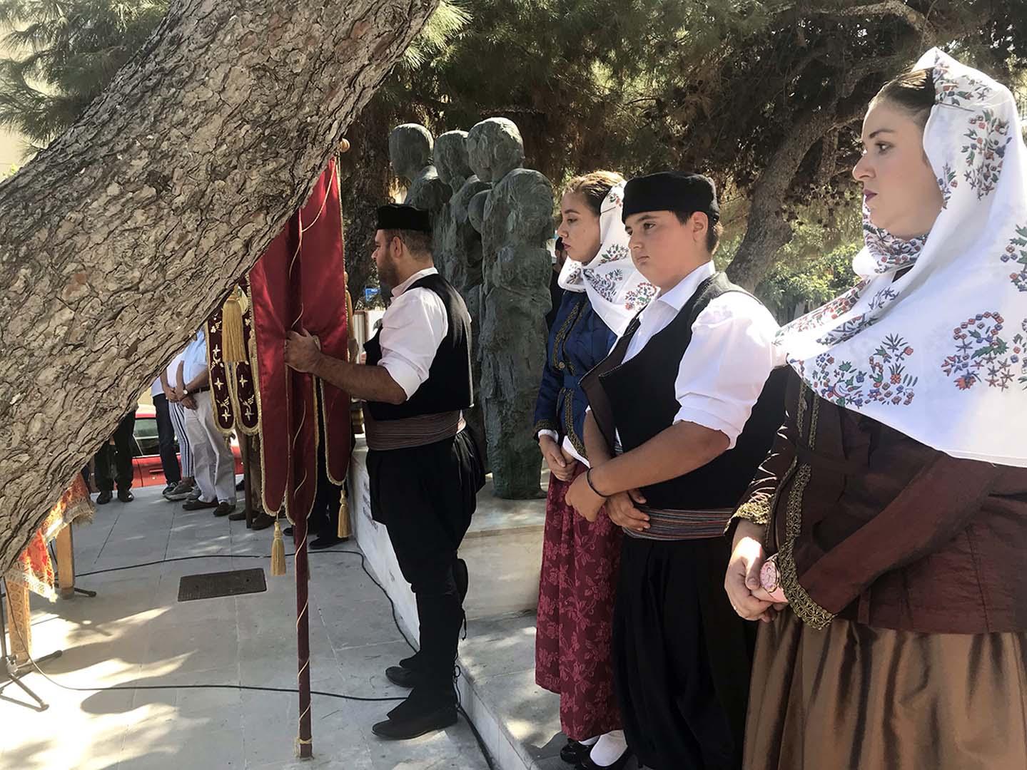 Στην εκδήλωση τιμής και μνήμης για τη γενοκτονία των Ελλήνων της Μικράς Ασίας