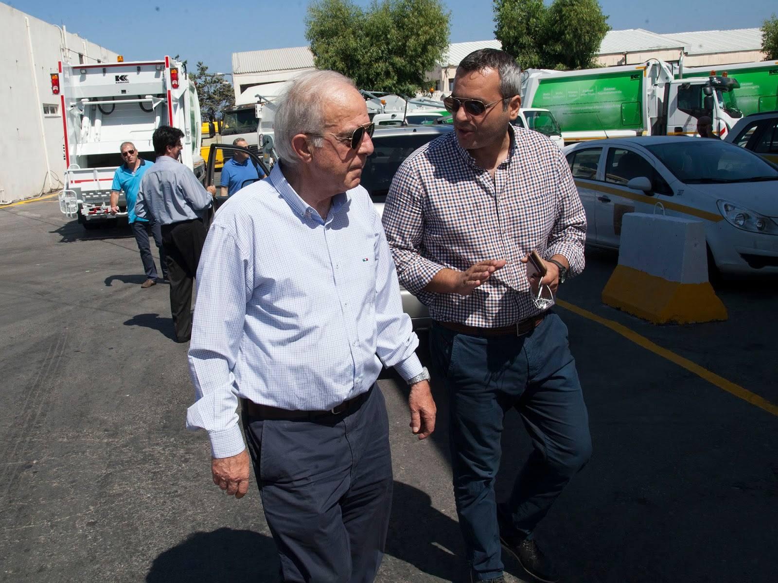 Με ένα νέο απορριμματοφόρο ενισχύθηκε ο στόλος ανακύκλωσης του Δήμου Ηρακλείου