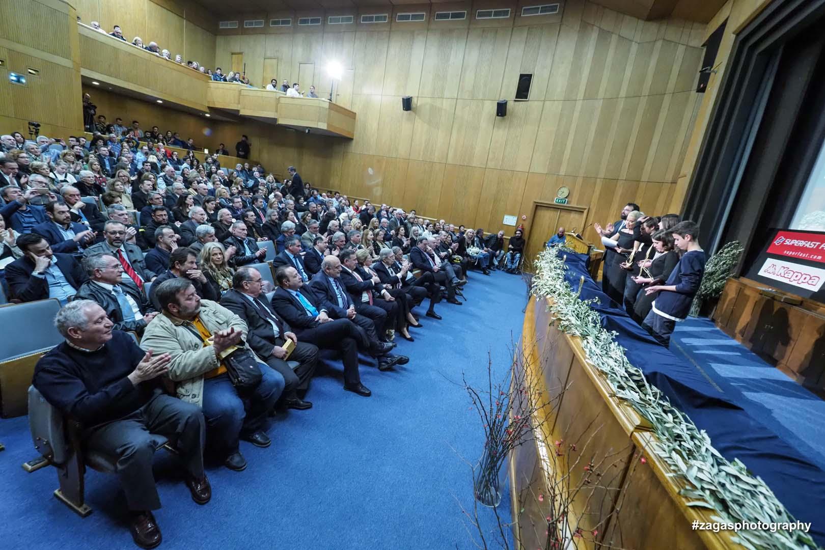 Η Ελληνική Ιστιοπλοϊκή Ομοσπονδία βράβευσε τον Ναυταθλητικό Όμιλο Γαζίου Κρήτης