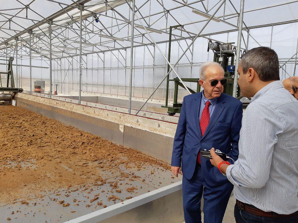 Επίσκεψη Δημάρχου Ηρακλείου στο εργοστάσιο του LIFE F4F