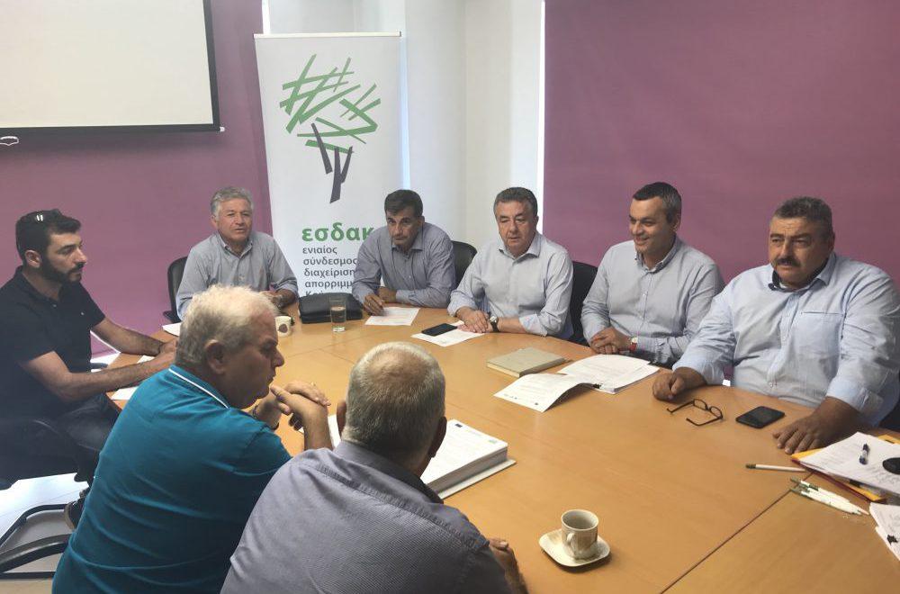 Πράσινο φως και για την έγκριση δημοπράτηση της Μονάδας Επεξεργασίας Απορριμμάτων και ΧΥΤΥ Αμαρίου – Μια νέα εποχή αρχίζει στη διαχείριση των απορριμμάτων στην Κρήτη