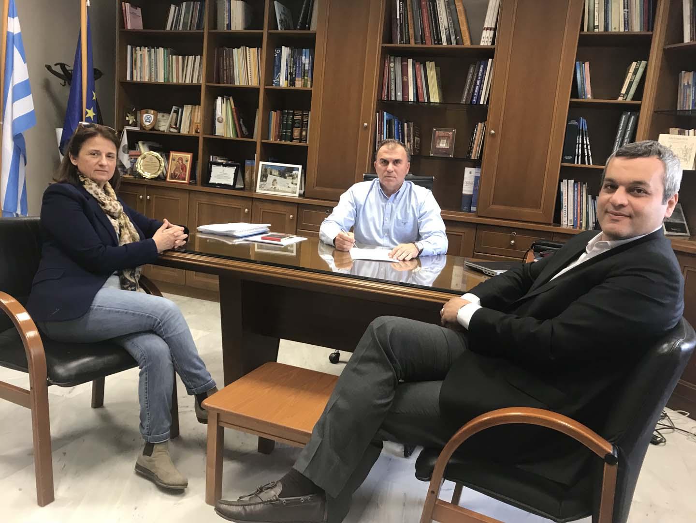 Συνεργασία Ε.Σ.Δ.Α.Κ. – Δήμου Ιεράπετρας στη διαχείριση των απορριμμάτων