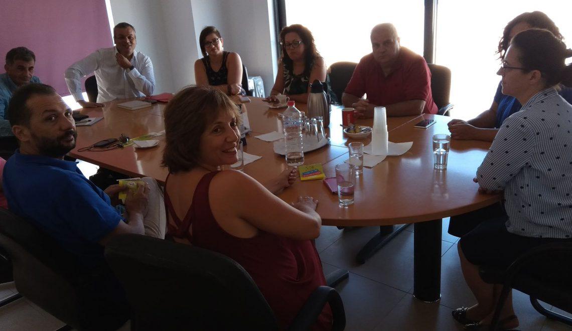Συνάντηση Ε.Σ.Δ.Α.Κ. και ΤΕΕ/ΤΑΚ για θέματα διαχείρισης απορριμμάτων