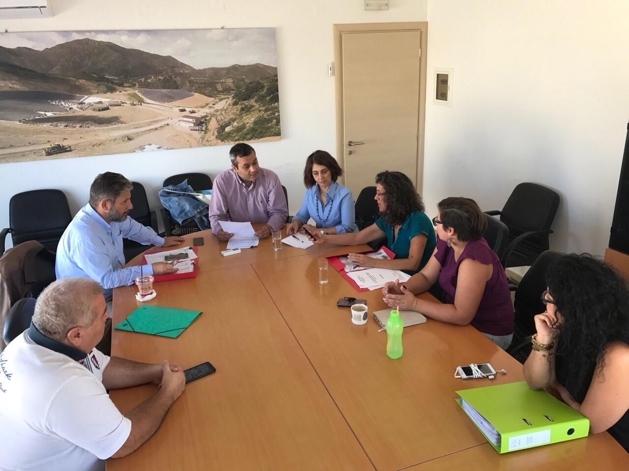 Η διαχείριση των απορριμμάτων της Γόρτυνας στο επίκεντρο συνάντησης στον ΕΣΔΑΚ
