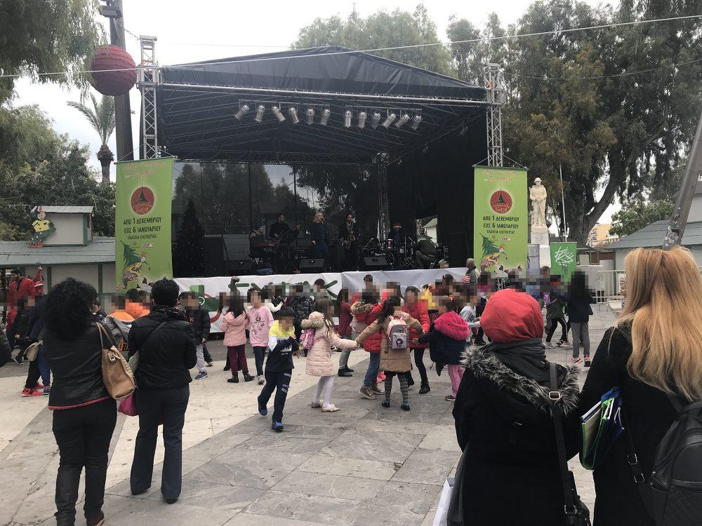 Κέφι, χορός, τζαζ και ανακύκλωση στην πλατεία Ελευθερίας