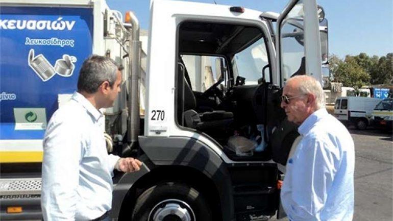 Νέα μηχανήματα στην Υπηρεσία Καθαριότητας του Δήμου Ηρακλείου