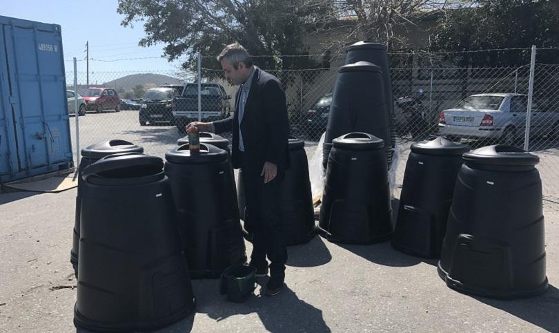 Νέο πρόγραμμα κομποστοποίησης στο Δήμο Ηρακλείου