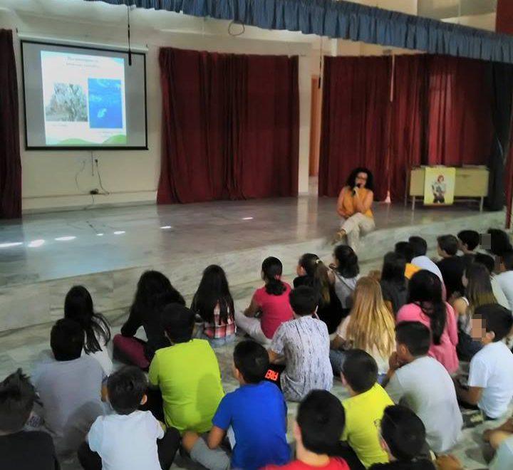 Οι μαθητές ενημερώθηκαν για την εκστρατεία κατάργησης της πλαστικής σακούλας