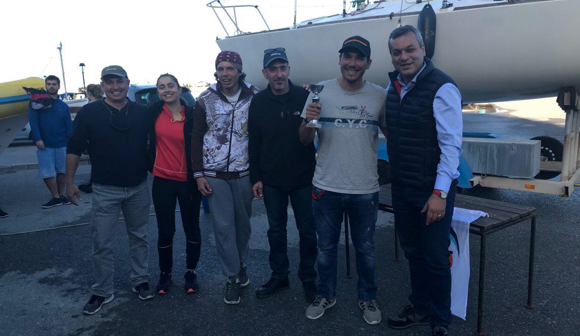 Ολοκληρώθηκε με επιτυχία ο διασυλλογικός Ιστιοπλοϊκός αγώνας κλάσης J/24 «Κύπελλο Γαζίου»