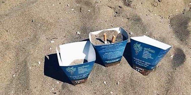 Σταχτοδοχεία… παραλίας διαθέτει ο δήμος Σητείας!