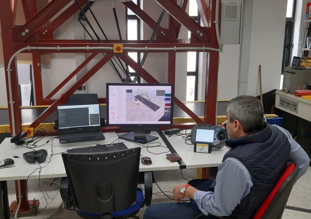 Ολοκληρώνονται οι προετοιμασίες λειτουργίας του ΡΟΜΠΟΤάκη στο Ι.Τ.Ε.