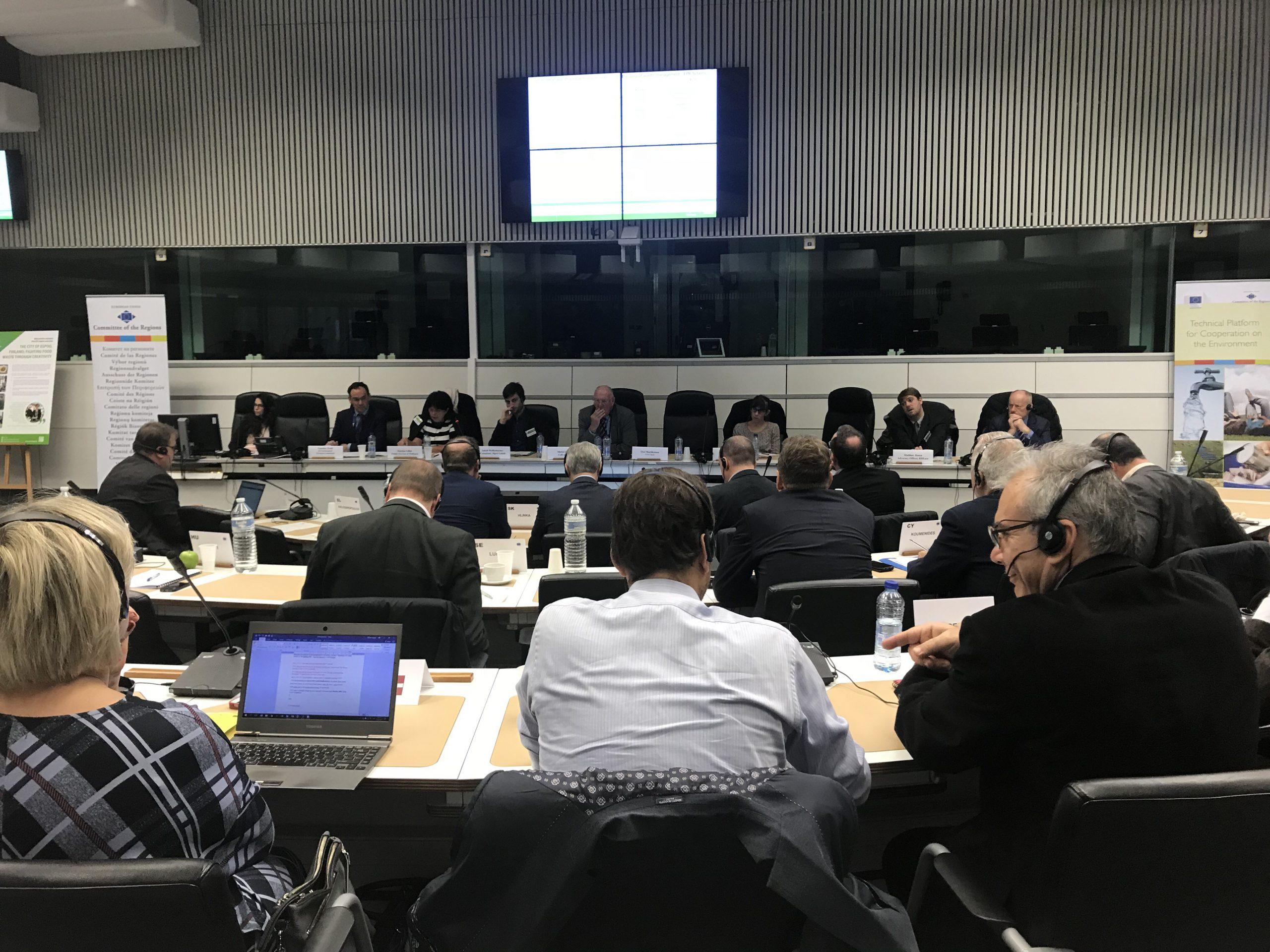 Στις Βρυξέλες το σχέδιο διαχείρισης στερεών αποβλήτων του Δήμου Ηρακλείου