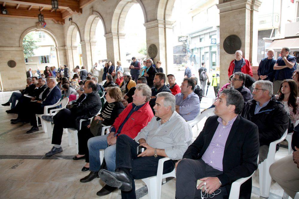 Εκδηλώσεις στο Ηράκλειο για την τσάντα πολλαπλών χρήσεων του Ε.Σ.Δ.Α.Κ.